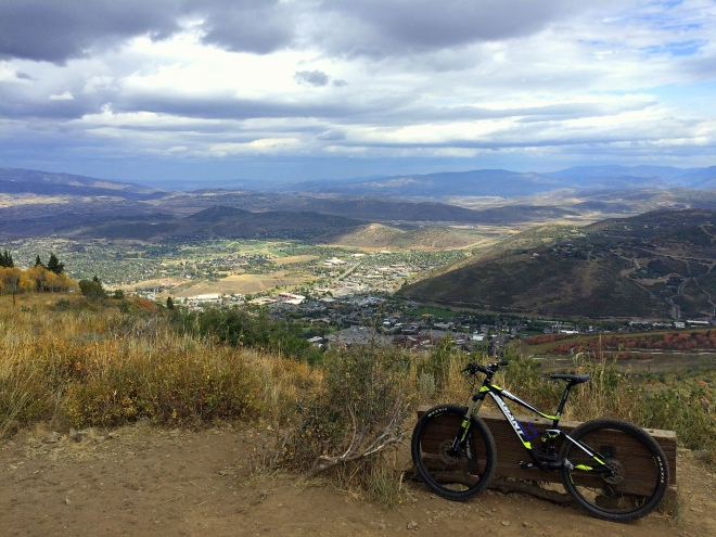 Substitute steed in Park City.